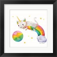 Framed Rainbow Caticorn II