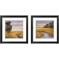 Framed Low Country Landscape 2 Piece Framed Art Print Set