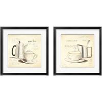 Framed Parisian Coffee 2 Piece Framed Art Print Set