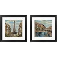 Framed Moment in Paris 2 Piece Framed Art Print Set