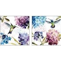 Framed Spring Nectar Square 2 Piece Art Print Set