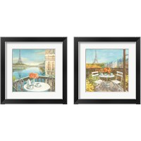 Framed Paris Views 2 Piece Framed Art Print Set