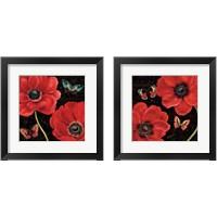 Framed Petals and Wings 2 Piece Framed Art Print Set