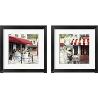 Framed Relaxing at the Cafe 2 Piece Framed Art Print Set