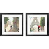 Framed Paris Romance 2 Piece Framed Art Print Set