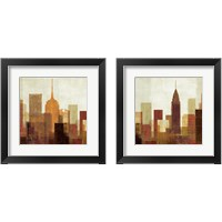Framed Summer in the City 2 Piece Framed Art Print Set