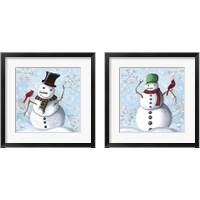Framed Winter Cheer 2 Piece Framed Art Print Set