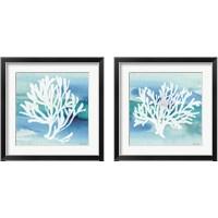 Framed Sea Life Coral 2 Piece Framed Art Print Set