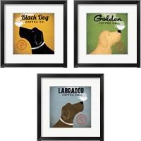 Framed Dog Coffee Co. 3 Piece Framed Art Print Set