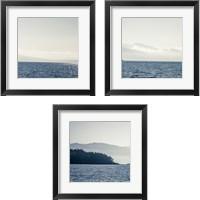 Framed Coastal Scene 3 Piece Framed Art Print Set