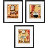 Framed Tuscan Bath 3 Piece Framed Art Print Set