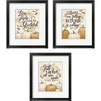 Framed Grateful Season 3 Piece Framed Art Print Set