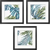 Framed Palm Leaves 3 Piece Framed Art Print Set