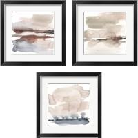 Framed Earth Horizon 3 Piece Framed Art Print Set