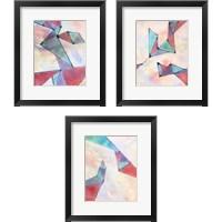 Framed Lucent Shards 3 Piece Framed Art Print Set
