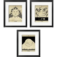Framed All Hallow's Eve 3 Piece Framed Art Print Set
