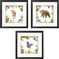 Framed Into the Woods 3 Piece Framed Art Print Set