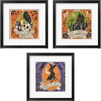 Framed Stay Creepy 3 Piece Framed Art Print Set