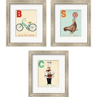 Framed Learning  3 Piece Framed Art Print Set