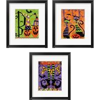 Framed Spooky Fun 3 Piece Framed Art Print Set
