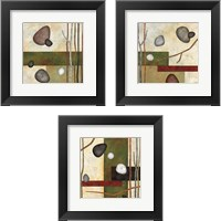 Framed Sticks and Stones 3 Piece Framed Art Print Set