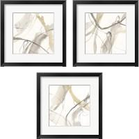 Framed Neutral Momentum 3 Piece Framed Art Print Set
