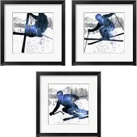 Framed Extreme Skier 3 Piece Framed Art Print Set