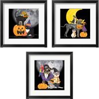 Framed Fright Night Friends 3 Piece Framed Art Print Set