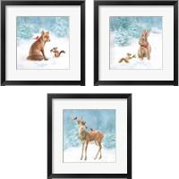 Framed Woodland Celebration 3 Piece Framed Art Print Set