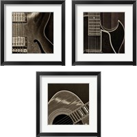 Framed String Quartet 3 Piece Framed Art Print Set