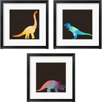 Framed Dino 3 Piece Framed Art Print Set