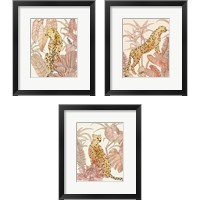 Framed Blush Cheetah 3 Piece Framed Art Print Set