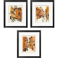 Framed Euro Voyage 3 Piece Framed Art Print Set