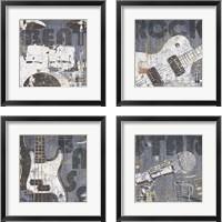 Framed Rock Concert 4 Piece Framed Art Print Set