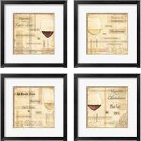 Framed Vin Noble 4 Piece Framed Art Print Set