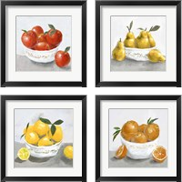 Framed Oranges & Lemons 4 Piece Framed Art Print Set