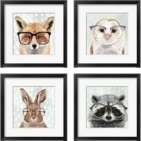Framed Four-eyed Forester 4 Piece Framed Art Print Set