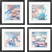 Framed Suffusion  4 Piece Framed Art Print Set