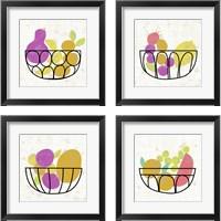 Framed Fruitilicious  4 Piece Framed Art Print Set