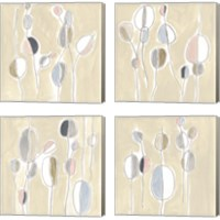 Framed String Garden 4 Piece Canvas Print Set