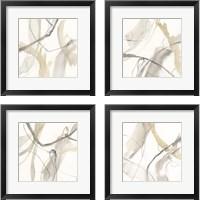 Framed Neutral Momentum 4 Piece Framed Art Print Set