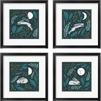 Framed Sweet Dreams Bunny 4 Piece Framed Art Print Set