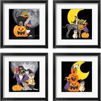 Framed Fright Night Friends 4 Piece Framed Art Print Set