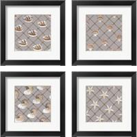 Framed Nautical Nets 4 Piece Framed Art Print Set