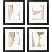 Framed Symphonic Shapes 4 Piece Framed Art Print Set