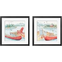 Framed Lake Moments 2 Piece Framed Art Print Set