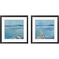 Framed Lake Edge 2 Piece Framed Art Print Set