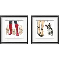 Framed Furry Fashion Friends 2 Piece Framed Art Print Set