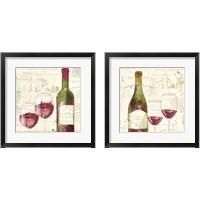 Framed Chateau Winery 2 Piece Framed Art Print Set