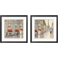 Framed Touring Paris Couple 2 Piece Framed Art Print Set